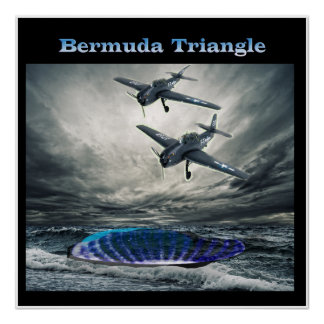 Poster Triângulo de Bermuda do vôo 19