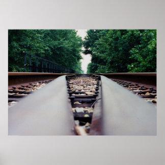 Poster Trilhas do trem