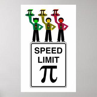 Poster Trio temperamental do sinal de trânsito no sinal