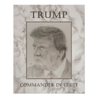Poster Trunfo, comandante-chefe