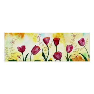 Poster Tulips.