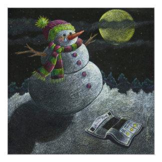 Pôster Um rasgo do boneco de neve