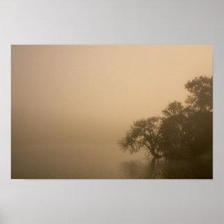 Pôster Uma caminhada na névoa