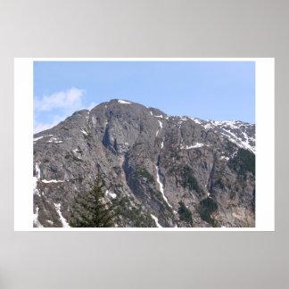 Poster Uma cena bonita da montanha de Alaska!