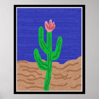 Pôster Uma flor do cacto