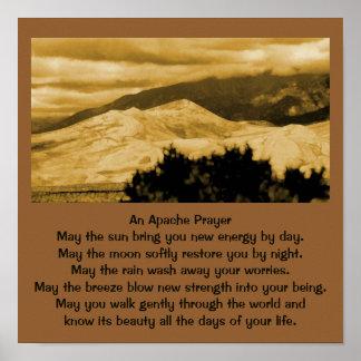 Poster Uma oração de Apache
