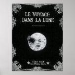 Pôster Uma viagem à lua ou ao la Lune dos dans de Le