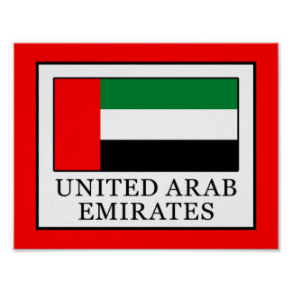 Poster United Arab Emirates