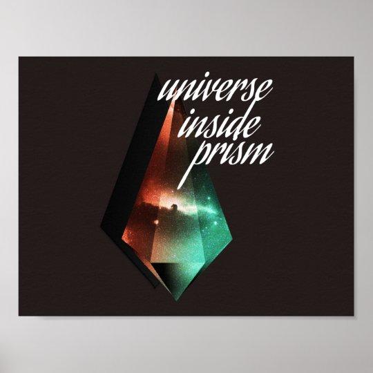 Poster Universe inside prism