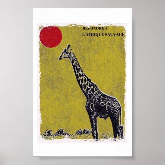 Poster Velha Girafa