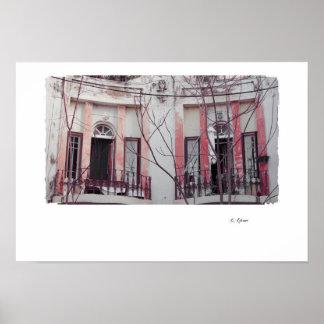Poster velho urbano -3 da casa