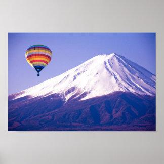 Poster Viagem bonito de Monte Fuji Japão