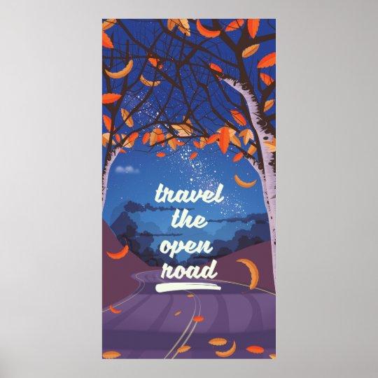 Poster Viaja a estrada aberta