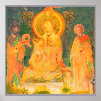 Pôster Vida de Urbino de John The Baptist por Salimbeni