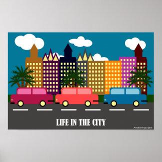 Poster Vida na cidade