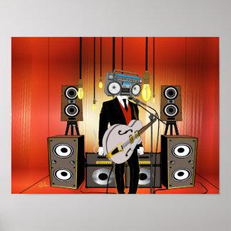 Poster Vintage Audiophile