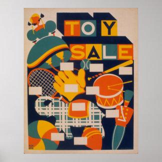 Poster vintage do partido dos trabalhos de arte da