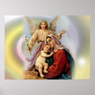 Poster Virgem Maria abençoada - mãe do deus