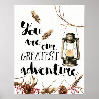 Poster Você é nossa grande aventura