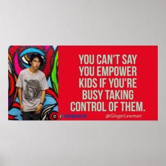 Poster Você não pode dizer que você autoriza miúdos se…