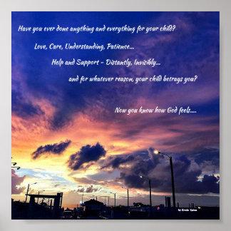 Poster - você, sua criança e deus