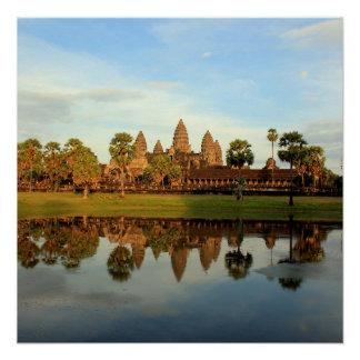 Pôster Watt de Angkor, Cambodia