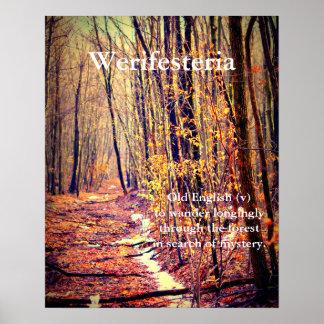 Poster Werifesteria
