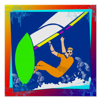 Poster Windsurfing