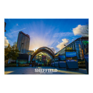 Poster Wintergarden de Sheffield