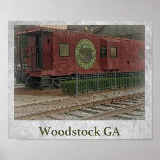 Poster Woodstock GA