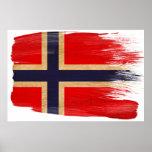 Posters da bandeira de Noruega