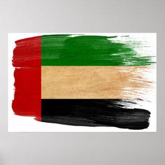Posters da bandeira de United Arab Emirates