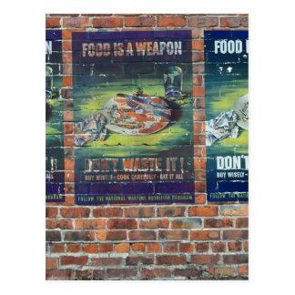 Posters da propaganda do tempo de guerra WW2 Cartão Postal