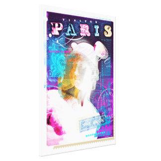 Posters de Paris - Hermes Impressão De Canvas Envolvidas