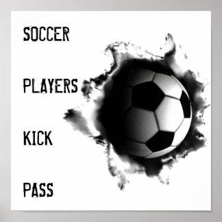 posters do futebol pôster