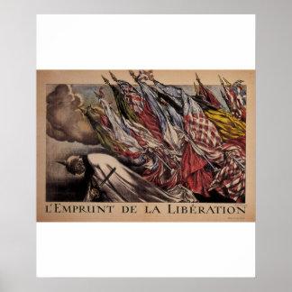 Posters do _Propaganda do empréstimo da libertação Pôster