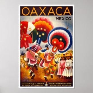 Posters mexicanos dos anúncios do viagem (arte do
