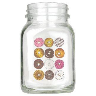 Pote De Vidro Mason Dúzia peças centrais da comida de pequeno almoço