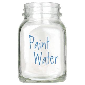 Pote De Vidro Mason Pinte a água da pintura da água NÃO para a arte