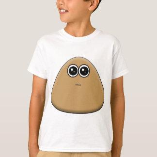 Pou com fome t-shirts