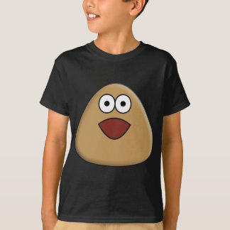 Pou Excited Camiseta