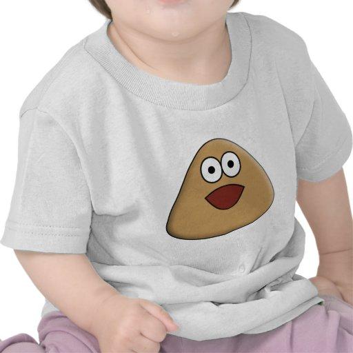 Pou Excited Camiseta