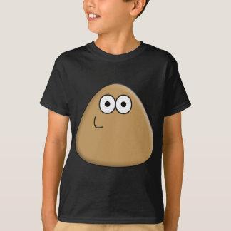 Pou feliz camiseta
