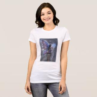 Pouca arte feericamente mágica da fantasia da lua camiseta