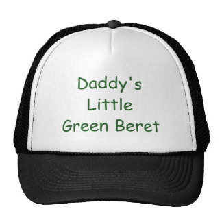 Pouca boina verde do pai bonés
