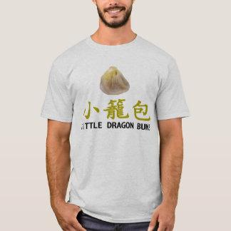 Pouca camisa do 小籠包 T dos bolos do dragão (branca)
