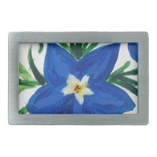 pouca coleção azul da flor