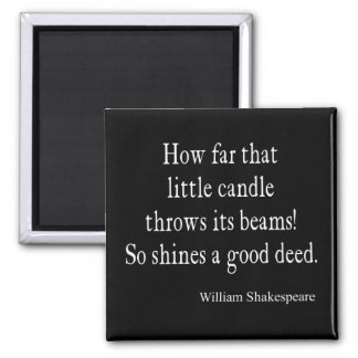 Pouca vela brilha boas citações de Shakespeare da Imã