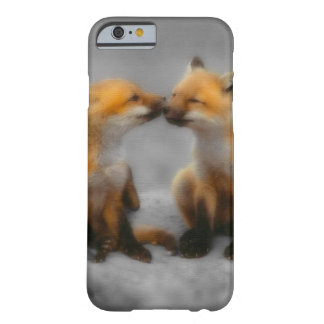 Pouco amor do Fox Capa Barely There Para iPhone 6