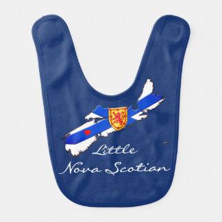 Pouco babador do bebê de Nova Escócia do amor de